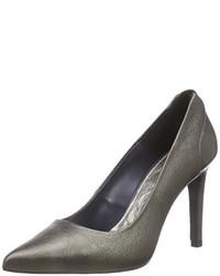 Zapatos de tacón grises de Tommy Hilfiger