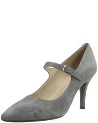Zapatos de tacón grises de Unisa
