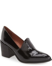 Zapatos de tacón gruesos