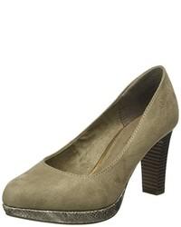 Zapatos de tacón marrón claro de s.Oliver