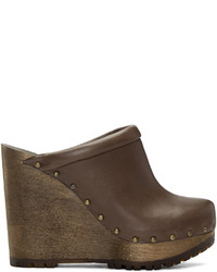 Zapatos de tacón marrónes de See by Chloe