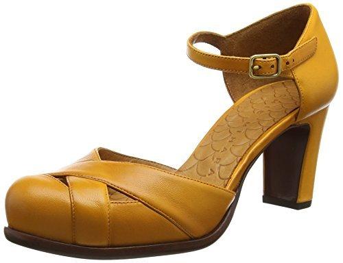 Mihara Naranjas Zapatos Chie Tacón De UISwzBn e2fd83ecdf3a