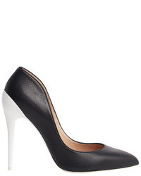 Zapatos de tacon negros y blancos original 4502652