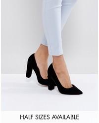Zapatos de tacón negros de Asos