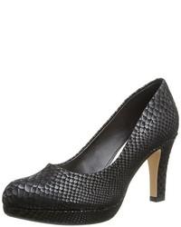 Zapatos de Tacón Negros de Clarks