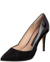 Zapatos de tacón negros de French Connection