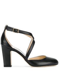 Zapatos de Tacón Negros de Jimmy Choo
