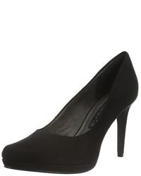 Zapatos de tacón negros de Tamaris