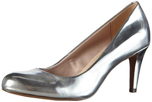 Zapatos Tacón Plateados Tacón De Zapatos Plateados Zapatos Clarks De Clarks deQCBWxro