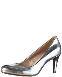 Zapatos de tacón plateados de Clarks
