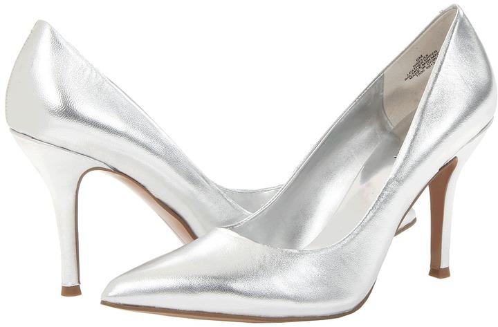 3df42acecc5 Zapatos De Dónde Plateados Combinar Y West Nine Tacón Cómo Comprar  1Znq84wCw7