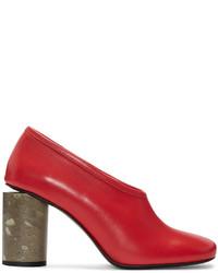 Zapatos de tacón rojos de Acne Studios