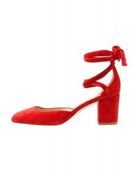 Zapatos de Tacón Rojos de J.Crew