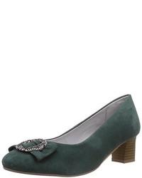 Zapatos verdes Bergheimer Trachtenschuhe para mujer 9van16