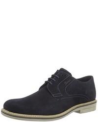 Zapatos derby azul marino de Sioux