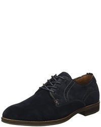 Zapatos derby azul marino de Tommy Hilfiger