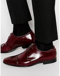 Zapatos derby burdeos de Paul Smith