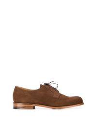 Zapatos derby de ante marrónes de Church's