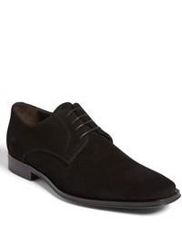 Zapatos derby de ante negros