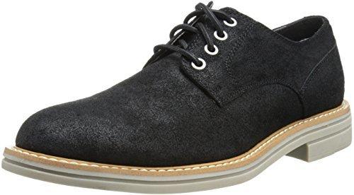 Zapatos Y Klein Derby De Negros Ante Calvin Ck Comprar Dónde 5qqfA