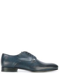 Zapatos derby de cuero azules de Kenzo