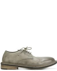 Zapatos derby de cuero grises de Marsèll