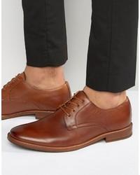 Zapatos Derby de Cuero Marrónes de Aldo