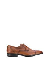 Zapatos derby de cuero marrónes de Lloyd