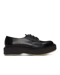 Zapatos derby de cuero negros de Études