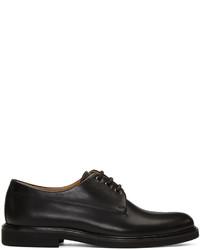 Zapatos derby de cuero negros de A.P.C.