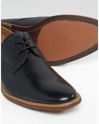Zapatos derby de cuero negros de Aldo