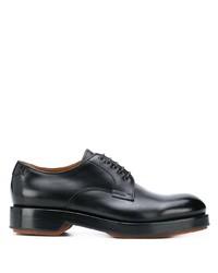 Zapatos derby de cuero negros de Ermenegildo Zegna