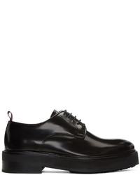 Zapatos Derby de Cuero Negros de Eytys