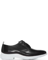 Zapatos derby de cuero negros de Kenzo