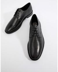 Zapatos derby de cuero negros de Kg Kurt Geiger