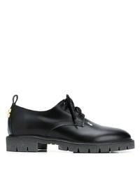 Zapatos derby de cuero negros de Off-White