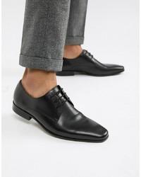 Zapatos Derby de Cuero Negros de Office