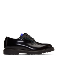 Zapatos derby de cuero negros de Paul Smith