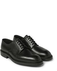 Zapatos derby de cuero negros de Richard James