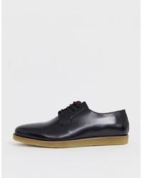 Zapatos derby de cuero negros de Zign