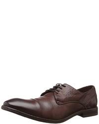 Zapatos derby en marrón oscuro de HUDSON SOFT