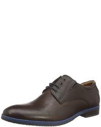 Zapatos derby en marrón oscuro de s.Oliver