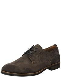 Zapatos derby en marrón oscuro de Tommy Hilfiger