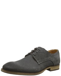 Zapatos Derby Gris Oscuro de Selected