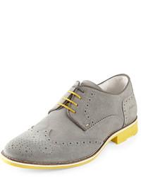 Zapatos derby grises