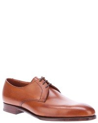 Zapatos derby marrón claro