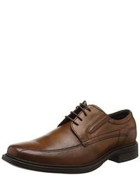 Zapatos derby marrónes de Bugatti