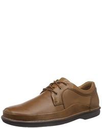 Zapatos derby marrónes de Clarks