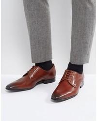Zapatos derby marrónes de Paul Smith