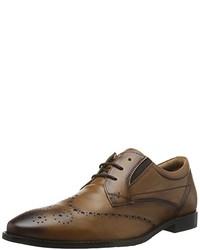 Zapatos derby marrónes de s.Oliver